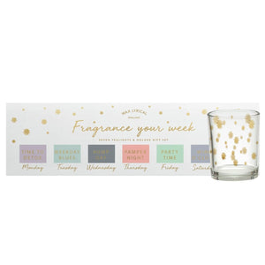 Wax Lyrical GiftScents Advent Pamper Week Candles Gift Set