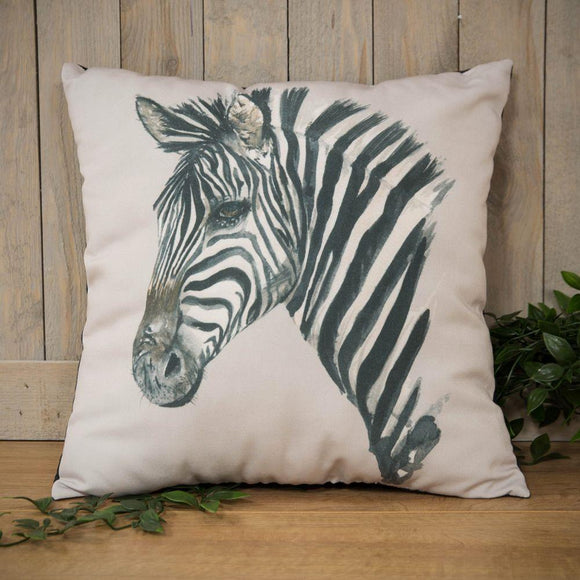 Meg Hawkins Zebra Design Cushion 40cm