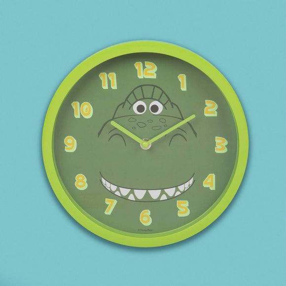 Disney Toy Story 4 Rex Design Childs Wall Clock - Caths Direct