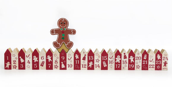 Gingerbread Christmas Calendar - Caths Direct