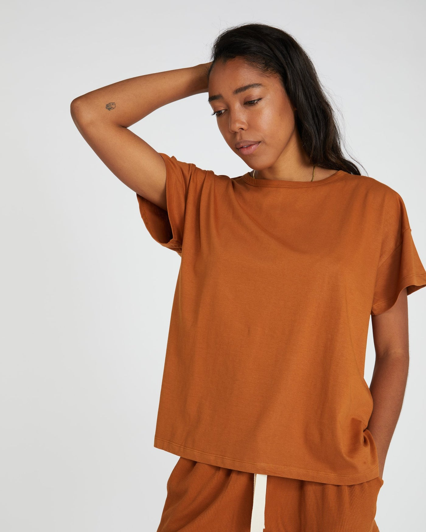 Classic Vintage Tee | Red Earth