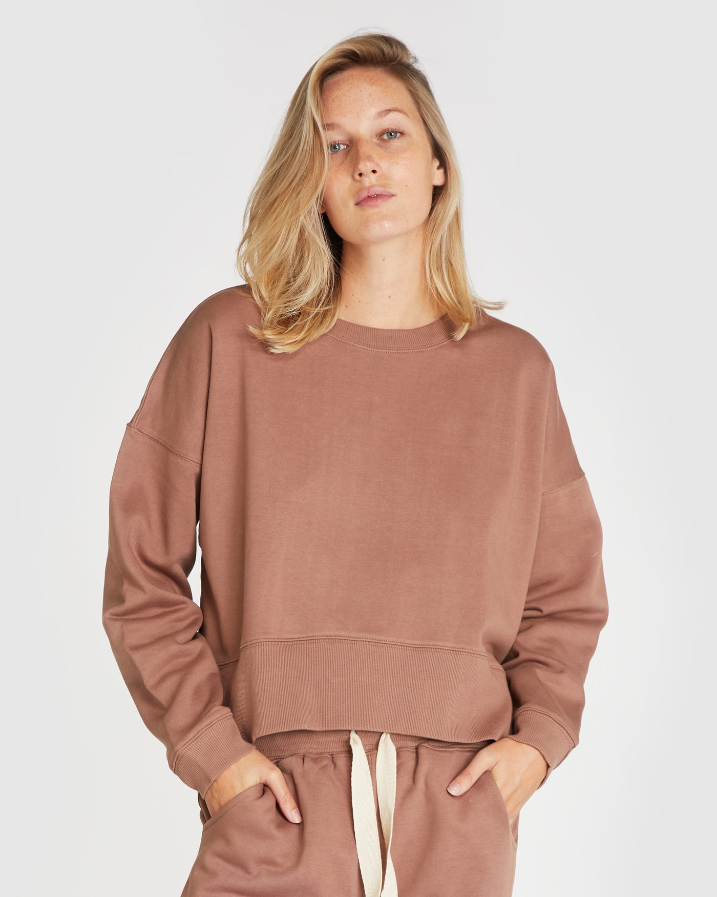 The Fleece Sweat | Mocha