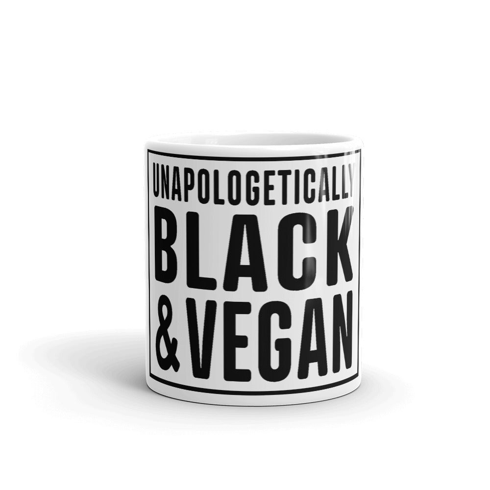 Unapologetically Black and Vegan Mug
