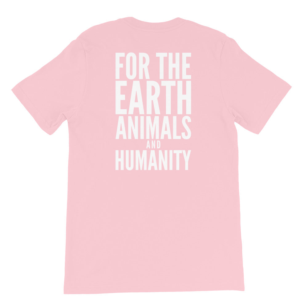 For The Earth Animals and Humanity | Collective Roar Apparel | Vegan T-shirts