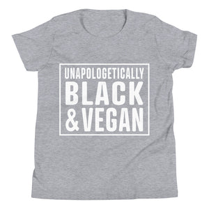 Unapologetically Black and Vegan Youth Tee