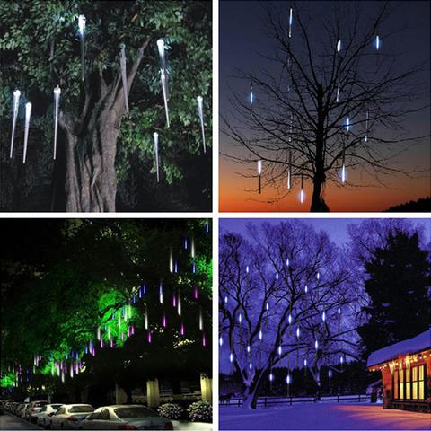 (1 SET)Snow Fall LED Lights【Christmas Sales】