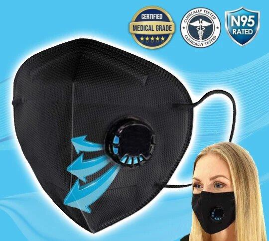 Reusable Filter Protective Gear - For Excellent Breathability & Extra Comfort