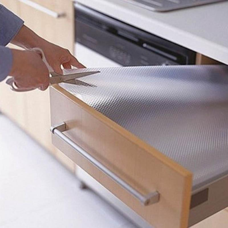Gorilla Grip Original Drawer and Shelf Liner, Non Adhesive Roll for Drawers, Shelves, Cabinets, Storage, Kitchen