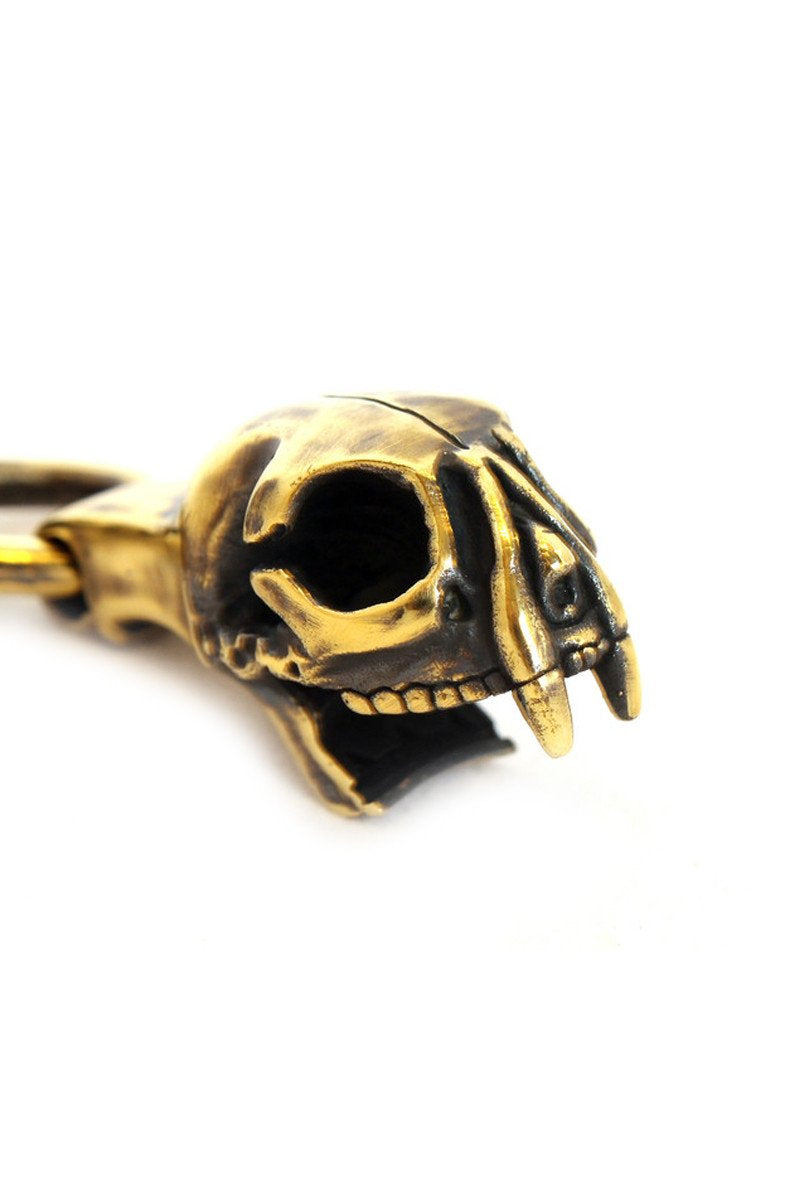 Cat Skull Bottle Opener