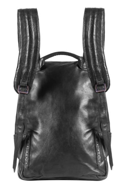 Triple claw back pack - All Leather