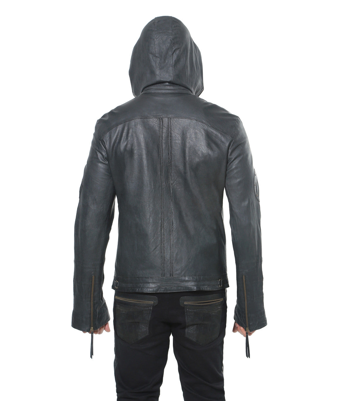Tiger Leather Hoody