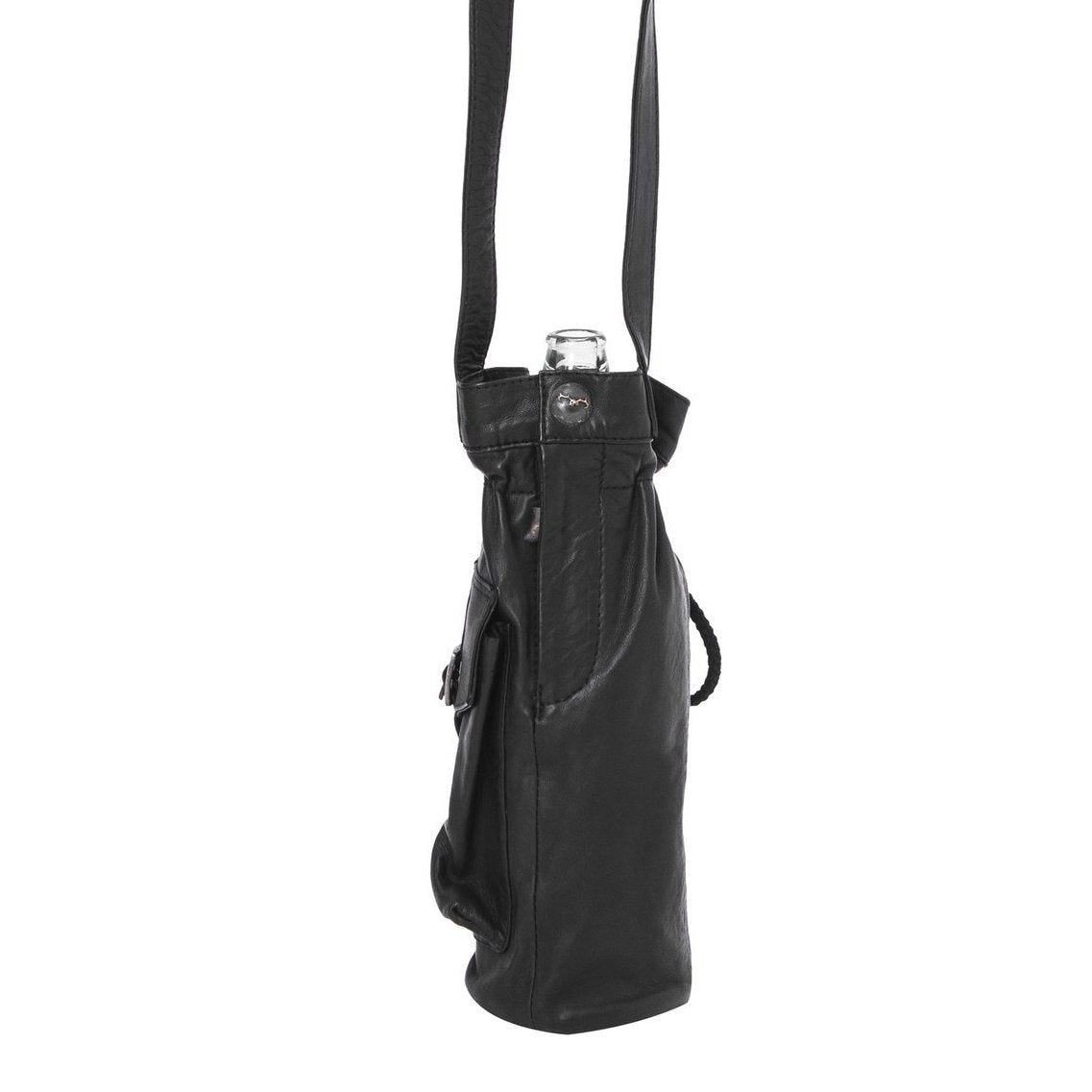 Coyote Bottle Bag - All Leather