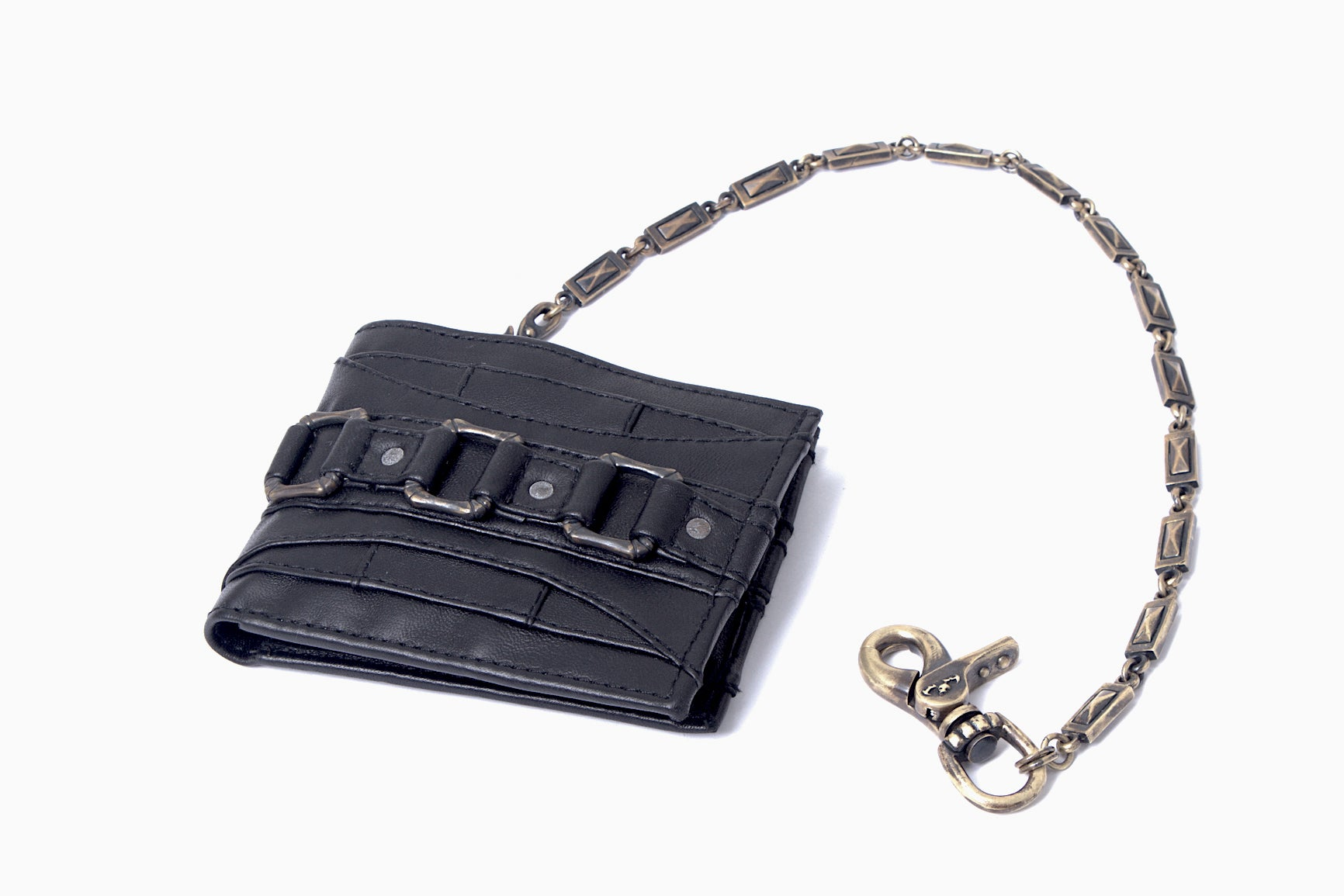 Dark star wallet with chain