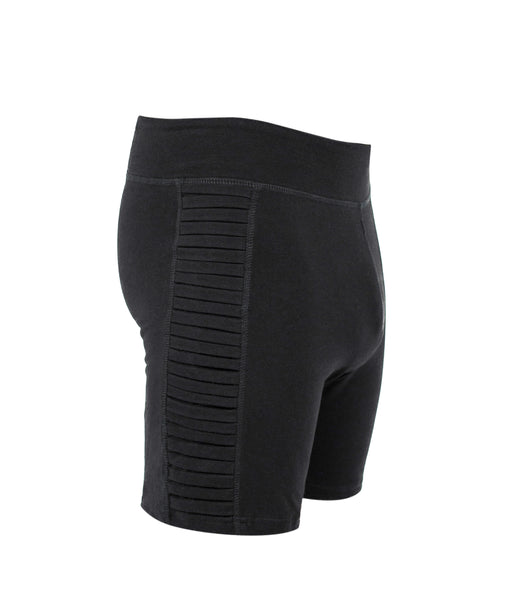 Ribbed Yoga shorts - Organic cotton