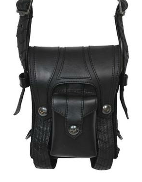 Double Buckle Side Bag