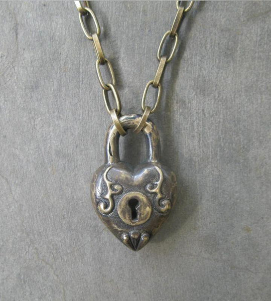 Antique Heart Lock