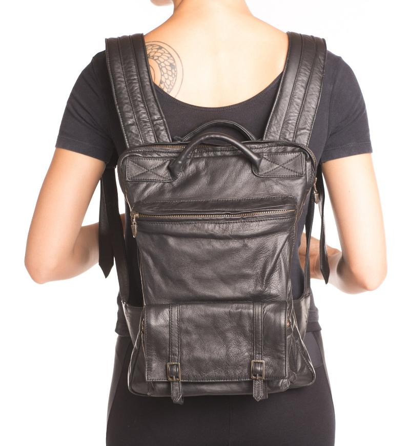 air double buckle back pack