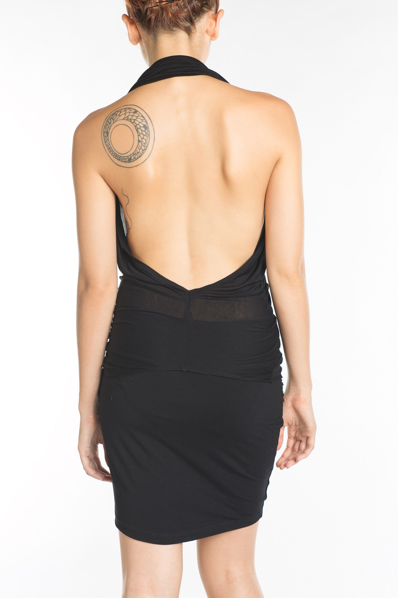 Wave Convertable Halter Top Black