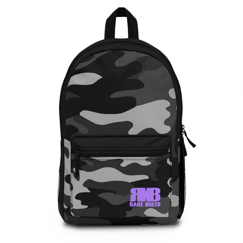 Rare Breed Gray and Black Camo Backpack (Made in USA)