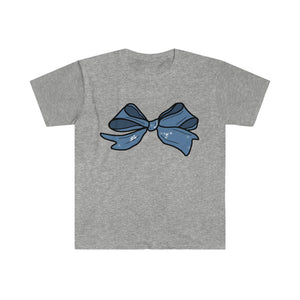 Hand-drawn Bow Design Unisex Softstyle T-Shirt