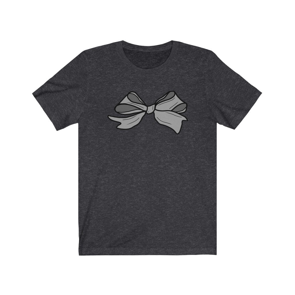Hand-drawn Bow Unisex Jersey Short Sleeve Tee