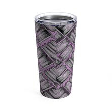 Load image into Gallery viewer, Rare Breed Lavender Lauhala Tumbler 20oz