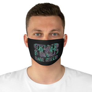 Rare Breed Monstera Fabric Face Mask
