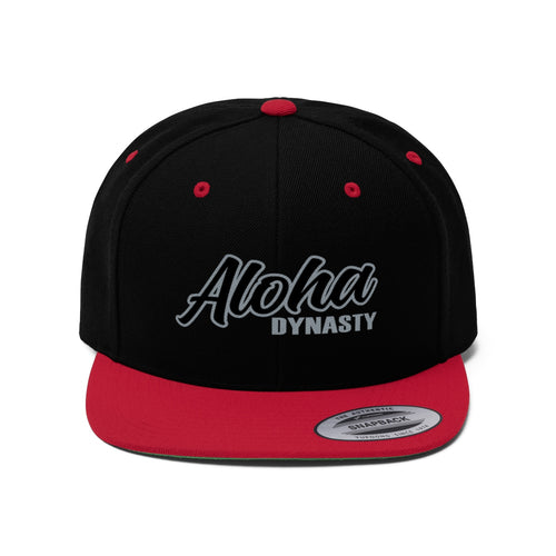 Aloha Dynasty Unisex Flat Bill Hat