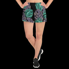 Load image into Gallery viewer, Monstera Women's Athletic Short Shorts