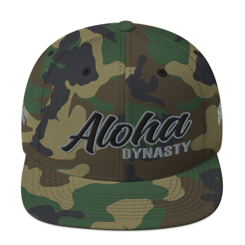 Aloha Dynasty Snapback Hat (more colors available)
