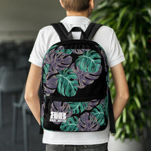 Load image into Gallery viewer, Rare Breed Monstera Design Backpack