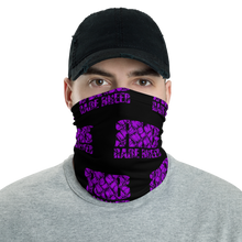 Load image into Gallery viewer, Rare Breed Purple Lauhala Neck Gaiter, Face Cover