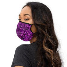 Load image into Gallery viewer, Hot Pink Tribal Design Face mask