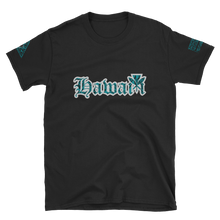Load image into Gallery viewer, Rare Breed Hawai'i, Teal Tribal Short-Sleeve Unisex T-Shirt
