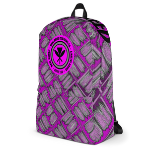 Rare Breed Pink Lauhala Design - Backpack