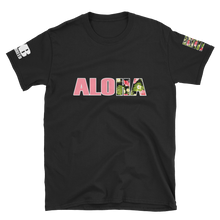 Load image into Gallery viewer, ALOHA Shaka Floral Short-Sleeve Unisex T-Shirt