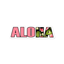 Load image into Gallery viewer, ALOHA Floral Sticker