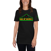 Load image into Gallery viewer, Rise UP Hawaii Short-Sleeve Unisex T-Shirt (Black)
