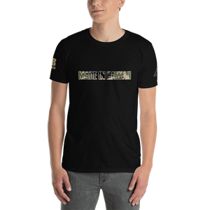 Made in Hawaii Camouflage Short-Sleeve Unisex T-Shirt