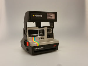 Polaroid LM program supercolor 635, 600 Film type, Instant, Polaroid, Vintage camera