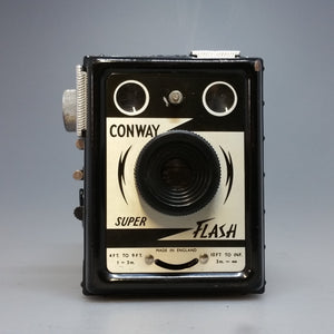 Conway Super FLASH 120 film box camera - Greenwich Cameras and Film