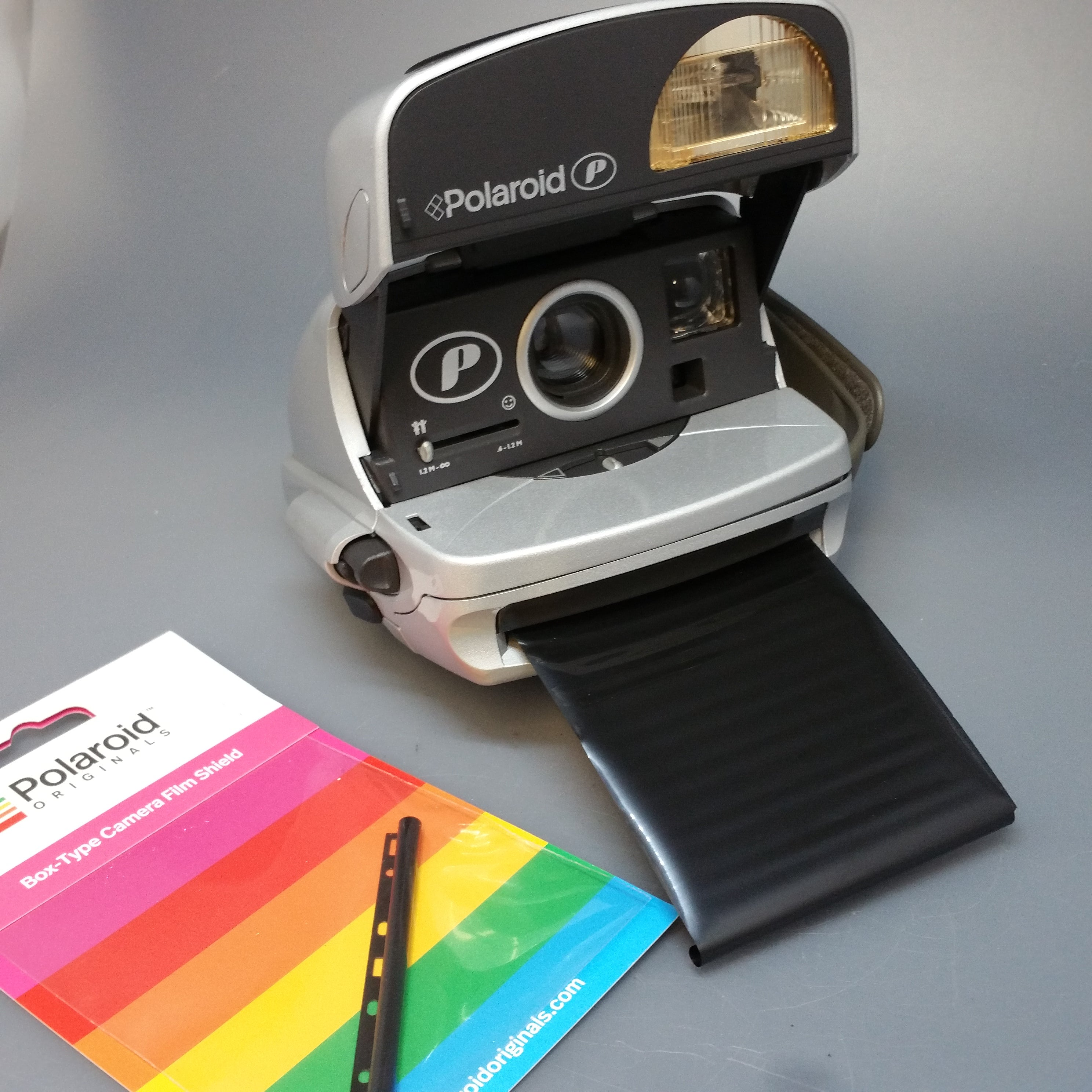 Polaroid 600 P Silver Vintage refurbished