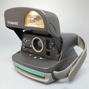 Polaroid 600 Grey/Turquoise Vintage refurbished