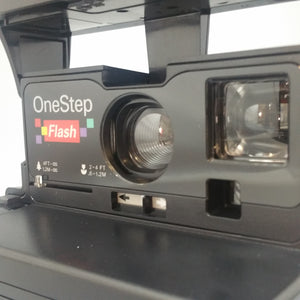Polaroid One step FLASH  Vintage refurbished