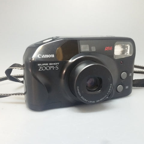 Canon Sure Shot Zoom-S  35mm compact point and shoot