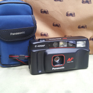 Panasonic C-420AF DX Autofocus, 35mm camera, Beginner, ,