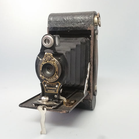 Kodak No 2 Folding Autographic brownie
