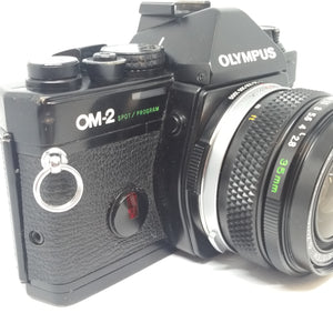 Olympus OM2 Spot/Program with Zuiko auto-S 50mm 1.8
