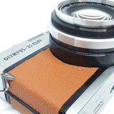 Olympus 35 SP Rangefinder customized  with ORANGE leather