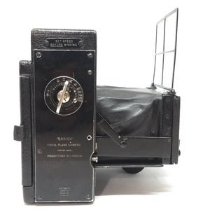 ENSIGN Focal Plane Camera, Ross lens, Press Camera c1910 - Greenwich Cameras and Film